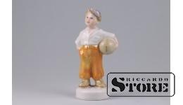 Фарфоровая статуэтка «Футболист» - талисман на карьерный рост