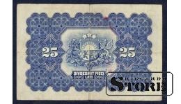 БАНКНОТА, 25 Лат 1928 год - B065103
