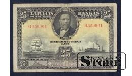 БАНКНОТА, 25 Лат 1928 год - B359961