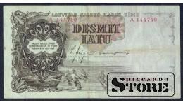 БАНКНОТА , ЛАТВИЯ , 10 ЛАТ 1937 - A 144740