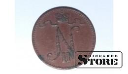 Финляндия 1 пенни 1909