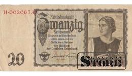 20 Марок 1939 год