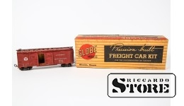 MODEL Double Door Box Car,Automobiles,Pennsylvania,Wood-Brass Kit