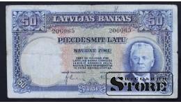 LATVIA , 50 LATI 1934 GADS - 206065