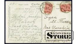 Старинная открытка Российской Империи Пруд Сапель