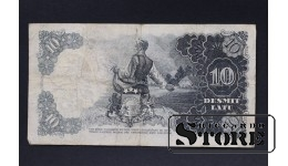 БАНКНОТА , ЛАТВИЯ , 10 ЛАТ 1938 год - AE 035610