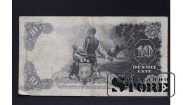 БАНКНОТА , ЛАТВИЯ , 10 ЛАТ 1938 год - AC 147372