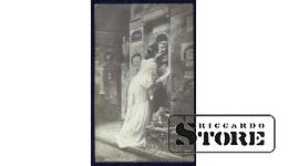 Старинная открытка Каульбах. Бессмертие