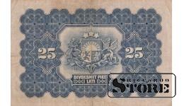 БАНКНОТА, 25 Лат 1928 год - A184102