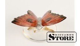 Фарфоровая статуэтка Бабочка, Алая