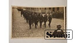 Довоенная Латвийская армия. Парад