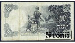 БАНКНОТА , ЛАТВИЯ , 10 ЛАТ 1938 - AC 162394