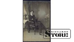 Старинная открытка времён Ульманиса Как денди лондонский одет