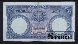 Банкнота, Латвия ,50 лат 1934 год - 002034