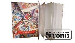 Альбом-планшет на 8 листов для хранения марок