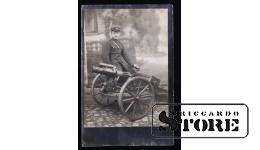Открытка, Солдат у пушки у Даугавпилсской крепости