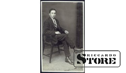 Старинная открытка времён Ульманиса. Будущий юрист