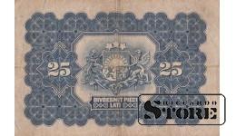 БАНКНОТА, 25 Лат 1928 год - A 333890