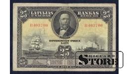БАНКНОТА, 25 Лат 1928 год - B403700