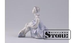 Фарфоровая статуэтка Балерина. Рижский фарфор. (Велта)