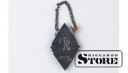 Знак , Ромбик , Студенческий , Эмаль , Вес - 6 Грамм