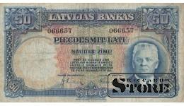 Банкнота, 50 лат 1934 год - 066657