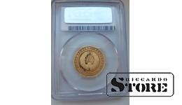 Zelta monēta, Lūsis ar dimantiem, 50 rubļi, 7,78 g, 2008