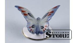 Фарфоровая статуэтка Бабочка, Белая.