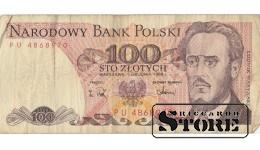 100 zlotych 1988