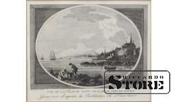 Рыбацкий порт под городом Руан (Франция)