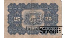 БАНКНОТА, 25 Лат 1928 год - A276218