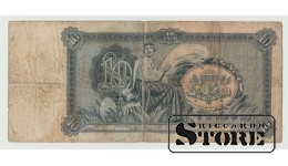 Банкнота , Латвия ,  10 лат 1934 год - AE 149663