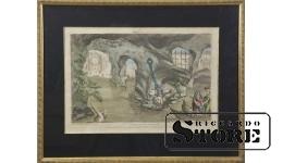Схождение Энея во Дворец Плутона в Аид