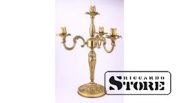 Svečturis, misiņš, bronza, 48 cm