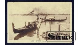 Старинная итальянская открытка Венеция