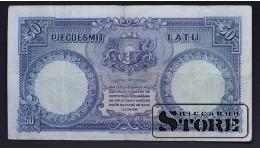 БАНКНОТА, ЛАТВИЯ , 50 ЛАТ 1934 ГОД - 692484