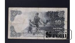 БАНКНОТА , ЛАТВИЯ , 10 ЛАТ 1938 год - AE 044840