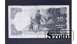 БАНКНОТА , ЛАТВИЯ , 10 ЛАТ 1938 год - AB 184397