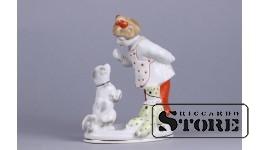 Figūriņa, pamēģini atņemt! , porcelāns, Rīga, Rīgas porcelāna rūpnīca, modeļa autors - Bolzan-Golembovska, 1950tie gadi, 15 cm