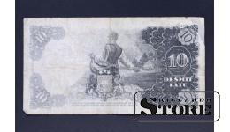 БАНКНОТА , ЛАТВИЯ , 10 ЛАТ 1937 год -  T093974