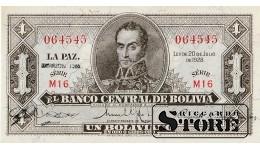 1 боливиан 1928