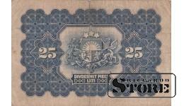 БАНКНОТА, 25 Лат 1928 год - A052049