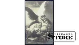 Старинная открытка российской империи Искушение