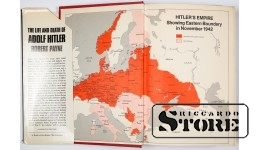 Книга , The Life And Death Of Adolf Hitler 1973 год.