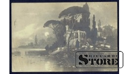 Старинная открытка СССР Остров Капри