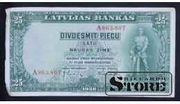 LATVIA , 25 LATI 1938 GADS - A863807