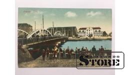 Atklātne. Liepāja. Tilts 1920-30-e gadi.