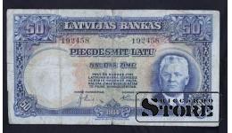 LATVIA , 50 LATI 1934 GADS - 192458