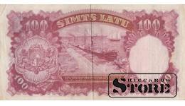 BANKNOTE , LATVIA, 100 LATI 1939 GADS - A 083252