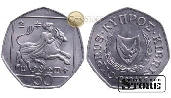 КИПР , 50 ЦЕНТОВ 2004 ГОД